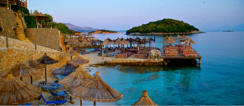 Private tour to Ksamil Islands